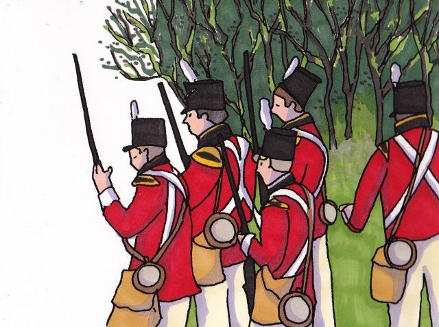 british soldiers 1814